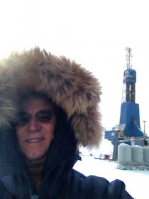 Jim Foster at the Repsol facility on the North Slope