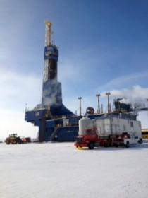 Repsol facility on the North Slope in Alaska