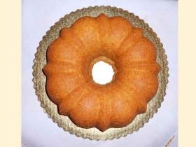 Mayhaw Bundt Cake