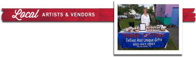 Local Artists and Vendors