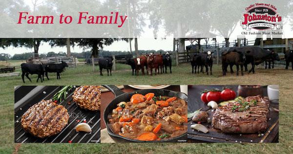 Farm to Family through Johnston's Meat Market