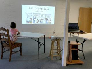 Beginnings of my Coding Classes classroom
